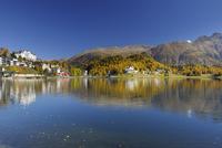 St. Moritz in Autumn, Engadin, Canton of Graubunden, Switzerland