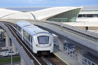 AirTrain JFK at JFK Airport, New York City, New York State, USA