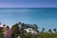 Overview of Resort on Dickenson Bay, Antigua, Antigua and Barbuda
