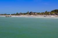 View of Beach, Isla Holbox, Quintana Roo, Mexico