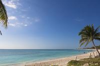 Beach at Playa del Carmen, Mayan Riviera, Quintana Roo, Mexico