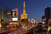 Las Vegas Strip at Night, Las Vegas, Nevada, USA
