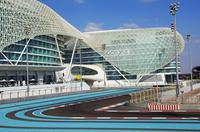 Yas Viceroy Abu Dhabi Hotel and F1 Yas Marina Circuit, Abu Dhabi, United Arab Emirates