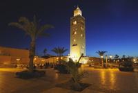 Koutoubia Mosque at Dusk, Marrakech, Morocco
