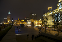 The Bund at Night, Shanghai, People's Republic of China
