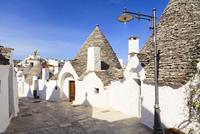 Trulli Houses, Alberobello, Province of Bari, Puglia, Italy