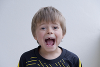 Boy with Open Mouth