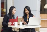 Businesswomen at Cafe