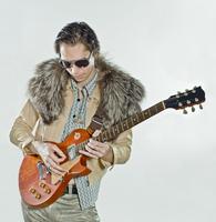 Rock Star Playing Guitar