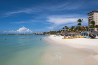 Resort and Beach, Palm Beach, Aruba, Leeward Antilles, Lesser Antilles, Caribbean