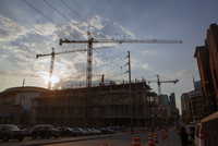 Building Construction in Nashville, Tennessee, USA