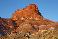 Sandstone erosion landscape at Old Paria - USA, Utah, Paria Canyon, Old Paria - Sunset