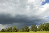 Summer Storm over Field near Madoc, Ontario, Canada