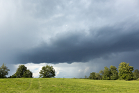 Summer Storm over Field near Madoc, Ontario, Canada