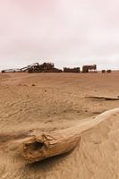 Abandoned factory, Namibia Skeleton Coast National Park, Namibia, Africa