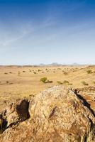 Scenic view of desert landscape, Damaraland, Kunene Region, Namibia, Africa