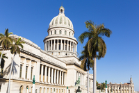 El Capitolio with Gran Teatro in the background, Havana, Cuba
