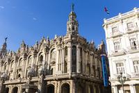 Gran Teatro and Hotel Inglaterra, Havana, Cuba