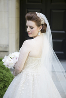 Portrait of Bride, Toronto, Ontario, Canada
