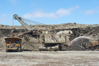 Mineral Extraction at Copper Mine, Chile