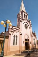 Church in Main Square, Calama, Atacama Desert, Antofagasta Region, Chile