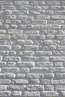 Brick Wall Painted White