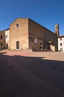 Church of Sant'Agostino, San Giminiano, Siena, Tuscany, Italy