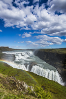 Rainbow at Gullfoss Waterfall, Southwest Iceland, Iceland