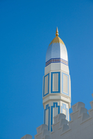Tower of Mosque against Blue Sky, Old Muscat, Muscat, Oman