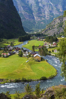 Scenic view from the Flam Railway, Flam, Norway