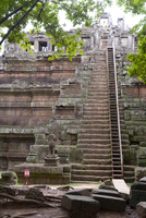 Angkor Thom, UNESCO World Heritage Site, Angkor, Siem Reap, Cambodia, Indochina, Southeast Asia, Asia