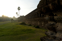 Angkor Wat Temple complex, UNESCO World Heritage Site at sunrise, Angkor, Siem Reap, Cambodia, Indochina, Southeast Asia, Asia