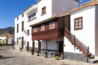 White washed house, traditional Canary Island architecture, Tejeda, Gran Canaria, Las Palmas, Canary Islands