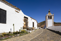 Alley by the church of Santa Maria de Betancuria, Betancuria, Fuerteventura, Las Palmas, Canary Islands