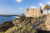 Castillo de San Jose accomodates the Museo Internacional de Arte Contemporaneo (Contemporary Art Musuem), Arrecife, Lanzarote, L
