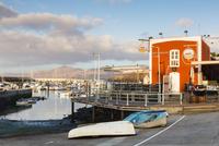 Casa Roja Restaurant by Yacht Harbour, Puerto del Carmen, Lanzarote, Canary Islands, Spain