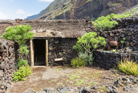 Ecomuseo de Guinea showing former Stone Houses and Living Style of the Past, El Hierro, Canary Islands, Spain