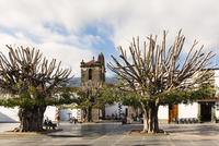 Plaza de Espana, Iglesia de Nuestra Senora de los Remedios, Los Llanos de Aridane, La Palma Island, Canary Islands, Spain