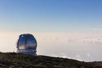 Observatory at Roque de los Muchachos, Parque Nacional de la Caldera de Taburiente, La Palma Island, Canary Islands, Spain