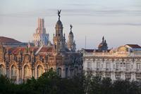 Gran Teatro de la Habana and Hotel Inglaterra, Havana, Cuba