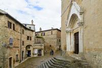 Monticchiello, Val d'Orcia, Siena, Tuscany, Italy 20025322382| 写真素材・ストックフォト・画像・イラスト素材|アマナイメージズ