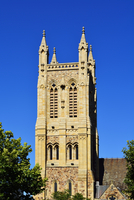 Church Steeple of St Francis Xavier Cathedral, Adelaide, South Australia, Australia