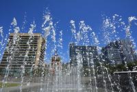 Victoria Square Water Feature, Adelaide, South Australia, Australia