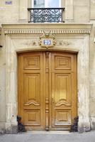 Wooden Doors, Paris, France