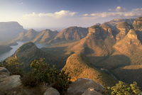 Blyde River Canyon and the three rondavels, Mpumalanga, South Africa, Africa