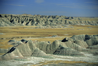 Big Badlands Overlook, Badlands National Park, South Dakota, United States of America 20025323270| 写真素材・ストックフォト・画像・イラスト素材|アマナイメージズ