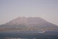 Sakurajima volcano, Kagoshima, Kyushu, Japan, Asia 20025323305| 写真素材・ストックフォト・画像・イラスト素材|アマナイメージズ