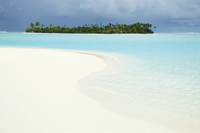 One Foot Island, Paradise beach, Aitutaki, Cook Islands, South Pacific, Pacific