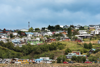 Houses in Neighbourhood, Castro, Chiloe Island, Chile