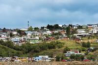 Houses in Neighbourhood, Castro, Chiloe Island, Chile